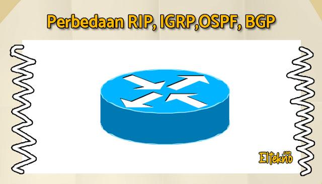 Perbedaan RIP, IGRP, OSPF, BGP Lengkap dengan Kelebihan dan Kekurangan nya