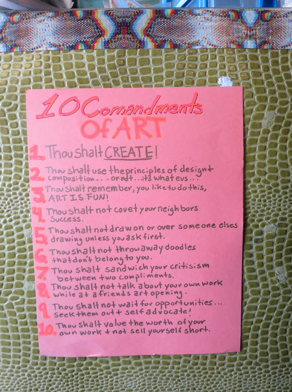 The zehnkatzen times art the 10 commandments of art portland style 10commandmentsofartibfg solutioingenieria Image collections