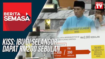 Permohonan Kasih Ibu Smart Selangor (KISS) 2018