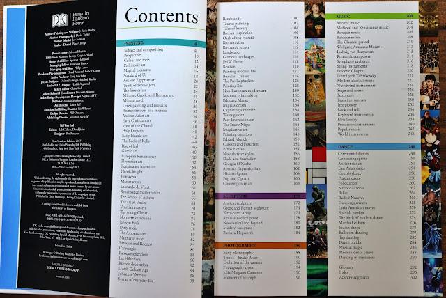 DK arts visual encyclopedia
