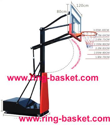 jual ring basket portable untuk sekolah SD