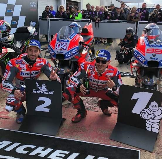 Dua Ducati Raih Start Terdepan Motogp Silverstone Inggris 2018