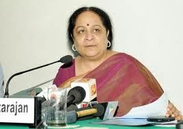Smt. Jayanthi Natarajan, Minister of State for Environment & Forests