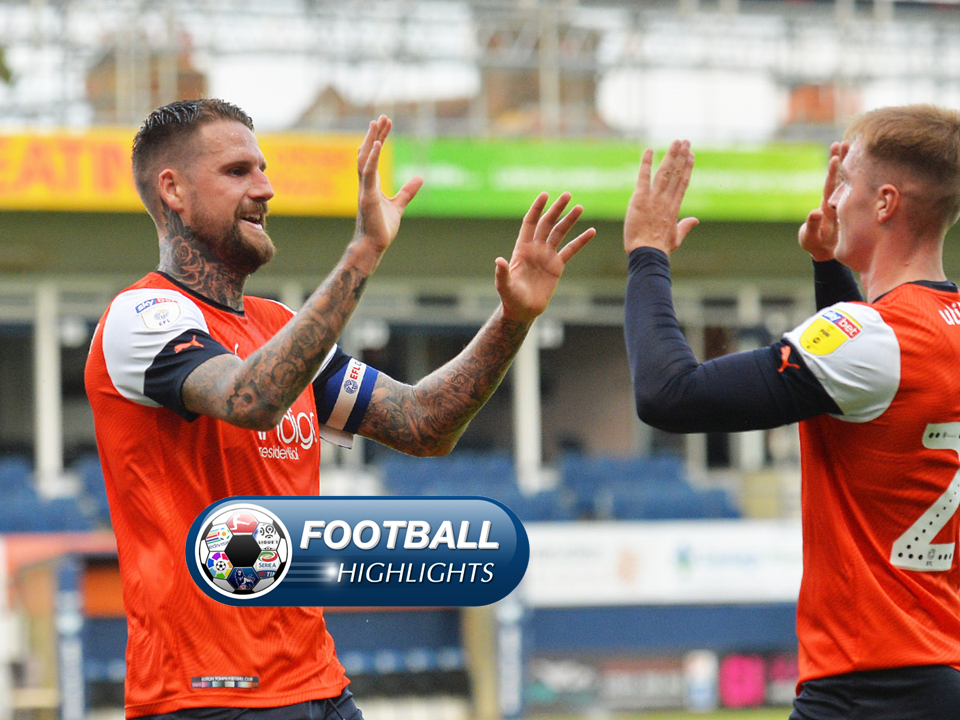 Video Luton 3-2 Blackburn