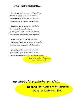Una de las obras en las cuales señala que nació en Madrid y que lo hizo en 1850