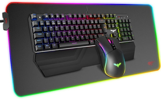 Havit Mechanical Keyboard and Mouse Combo RGB Gaming 104 Keys