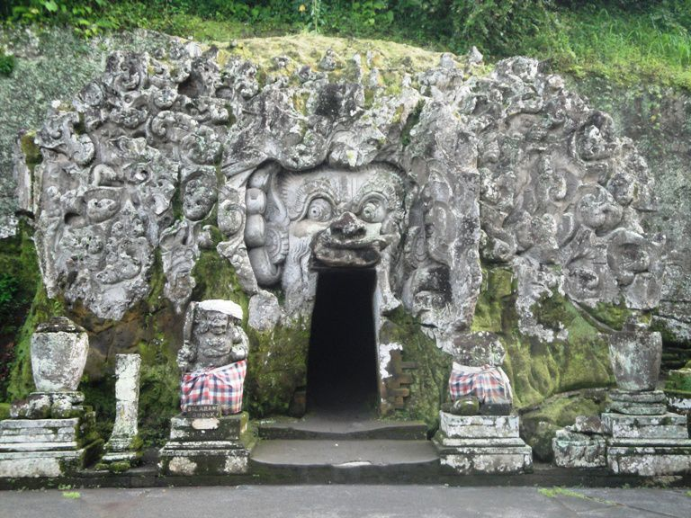 Hindu Bali Elephant Cave Temple - Goa, Village, Bedulu, Gianyar, Bali, Vacations, Picnic, Attractions