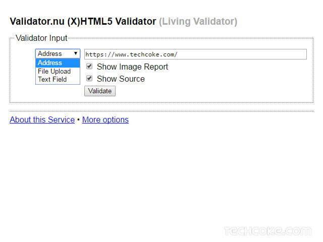 Validator.nu (X)HTML5 網頁 HTML/XHTML 線上驗證器_101
