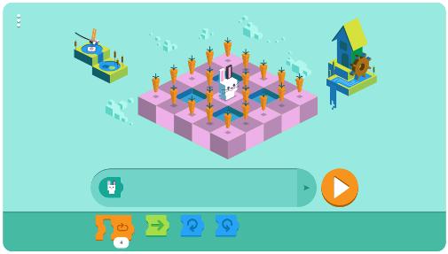 Screenshot Level 6 Permainan Merayakan 50 Tahun Anak-anak Memprogram