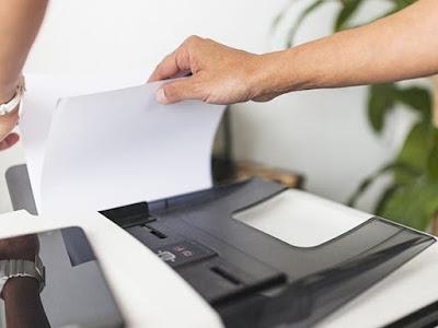 Cara Scan di Mesin Fotocopy