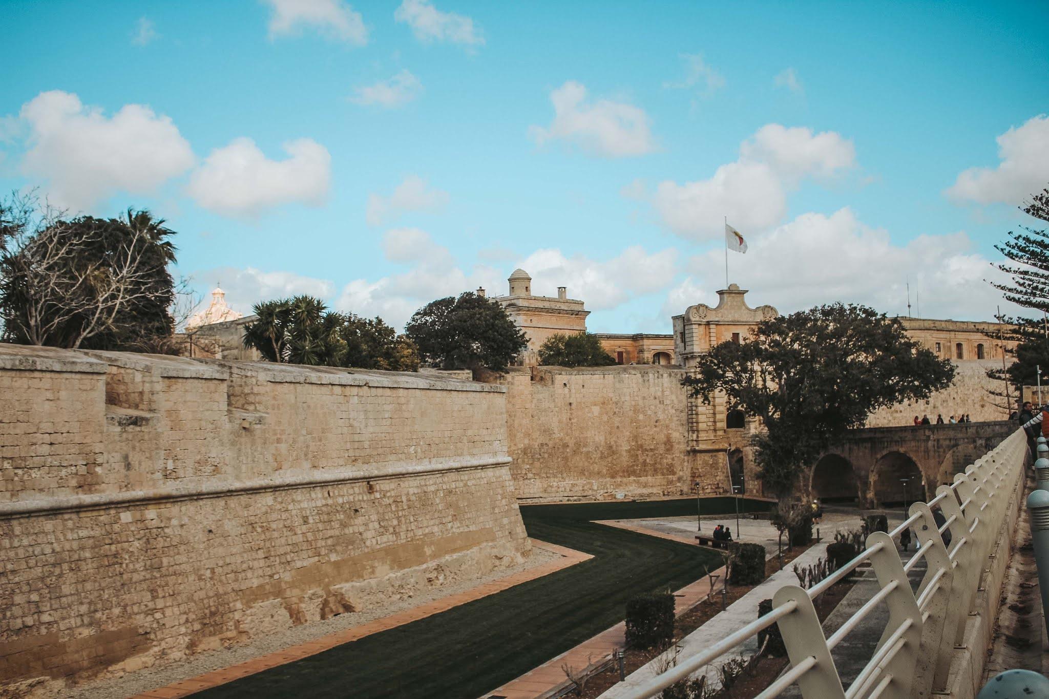 Mdina Stadtmauer