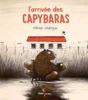 Couv L'arrivée des Capybaras