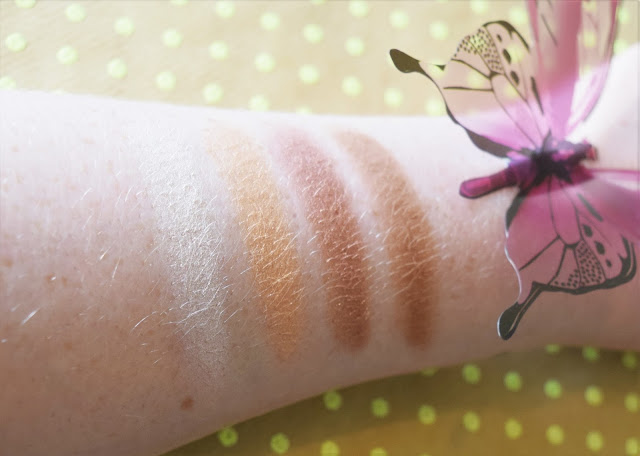 Urban Decay Alice Through The Looking Glass Eyeshadow Palette Mirama Swatches