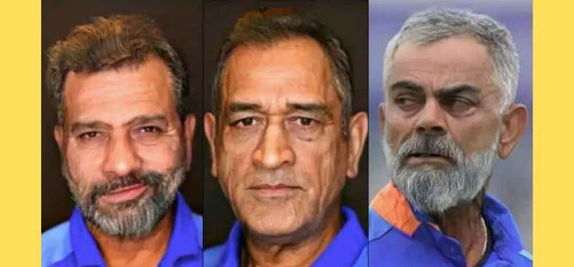 Virat Kohli FaceApp Photos