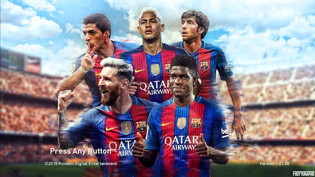 PES 2017 Start Screen Pack Volume 2 by ZeroPes