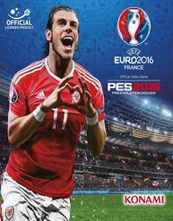 غلاف لعبة UEFA Euro 2016 France بيس 2016