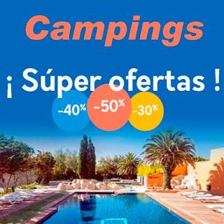 Ofertas en campings para este verano