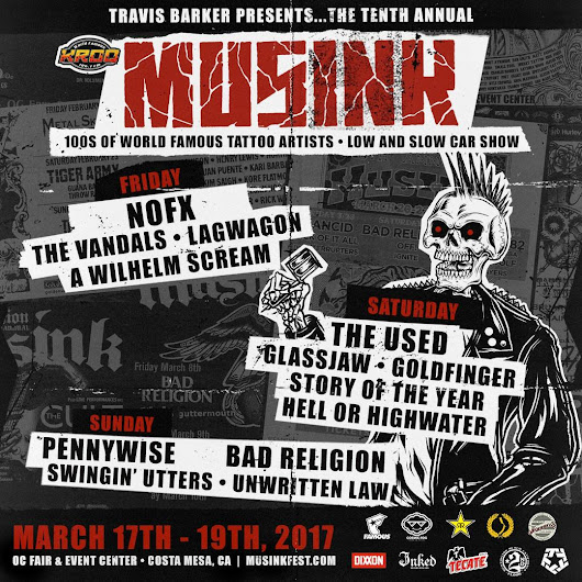 Orange County Musink Tattoo Convention March 20127