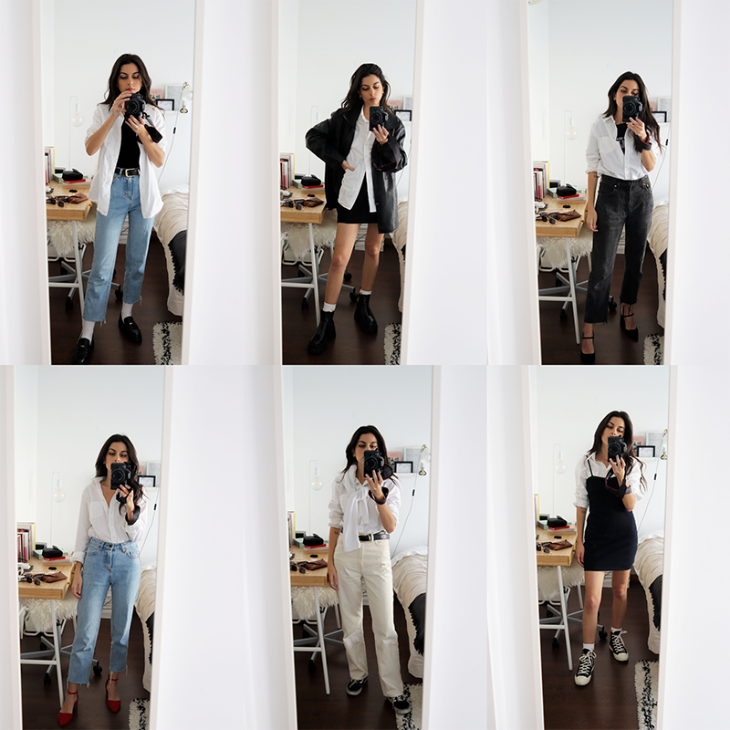 6 Ways To Wear A White Shirt