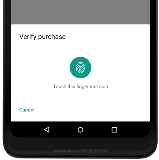 Verify purchase icon