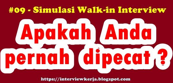 09 interview kerja dan jawabannya pertanyaan wawancara