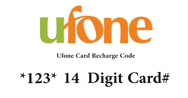 ufone recharge code