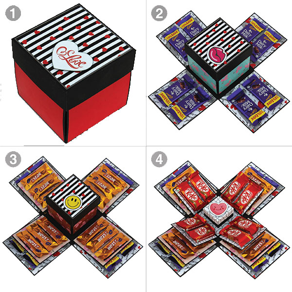 Chocolate Explosion Box | Birthday Explosion Box