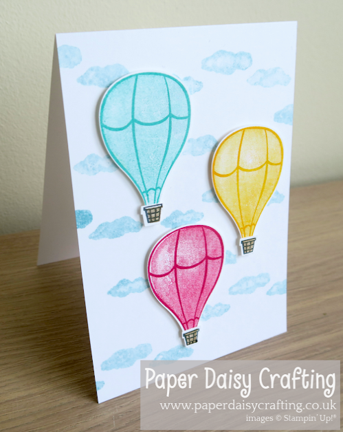 Nigezza Creates Stampin' Up! Above The Clouds Project Share