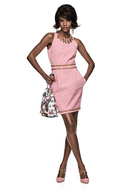 Moschino Resort 2021 pink dress