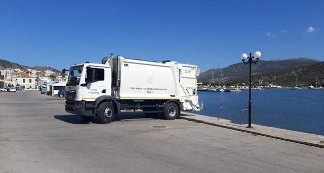 Προμήθεια νέου απορριμματοφόρου στον Δήμο Ερμιονίδας