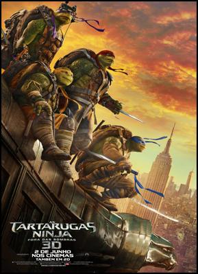 As Tartarugas Ninja - Fora das Sombras (Dublado)