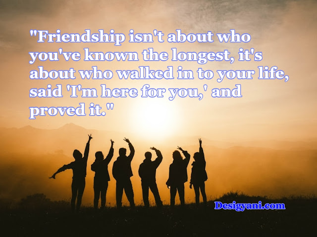 Inspiring Quotes Collection about True Friendship in English