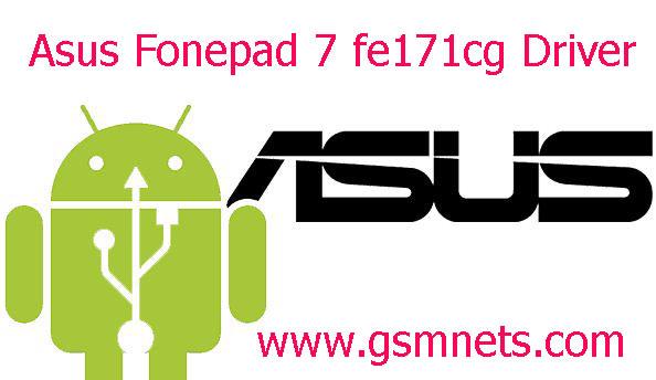 Asus Fonepad 7 fe171cg USB Driver Download