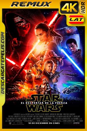 Star Wars: Episodio VII El despertar de la Fuerza (2015) 4k BDRemux HDR  Latino – Ingles