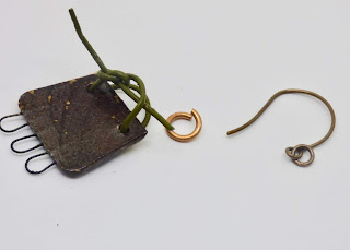 back of earring component and parts