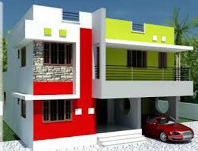 warna cat dinding luar rumah yang cerah 33