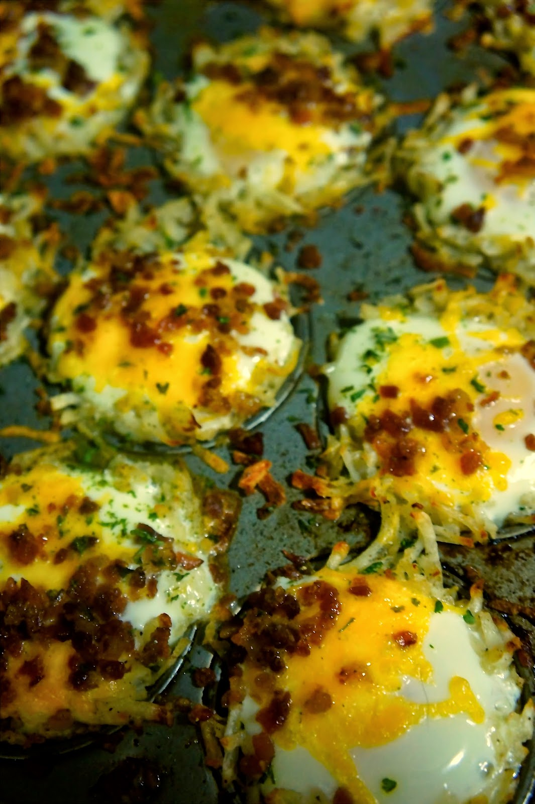Potato and Egg Baskets: Savory Sweet and Satisfying