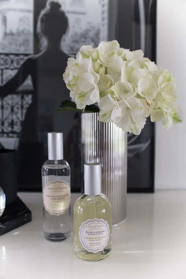 Plantes&Parfums Provencen huonetuoksuspray, Villa H, sisustusblogi