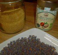 huile de noix de coco sucre lavande huille essentielle recette gommage lavande