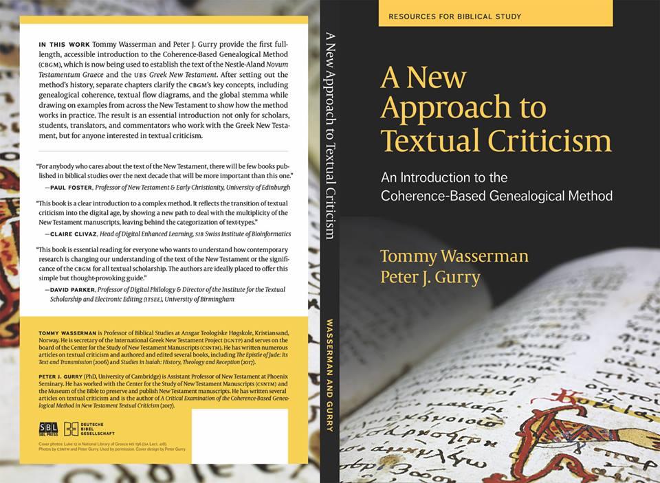 evangelical textual criticism 2017