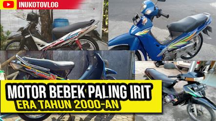 Motor Bebek Jadul Paling Irit BBM Tahun 2000-an