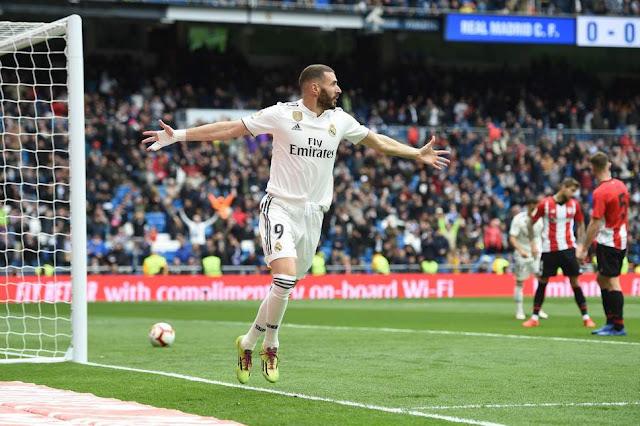 Inilah Hasil Liga Spanyol : Real Madrid Hajar Athletic Bilbao