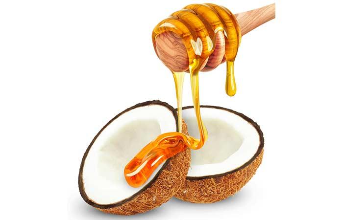 Hausgemachte Conditioner für lockiges Haar - Kokosmilch und Honig Haarkur Sparen