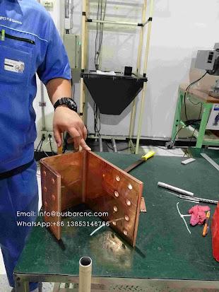 copper cut punch shear machine