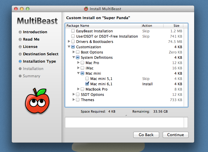 Enable HD 2500 graphics on your Hackintosh
