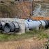Em Sousa (PB): válvulas rompem e causam vazamento de água do Açude São Gonçalo, no Sertão