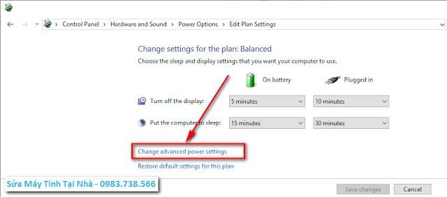 Hướng dẫn sửa lỗi laptop không hiện thông báo yếu Pin