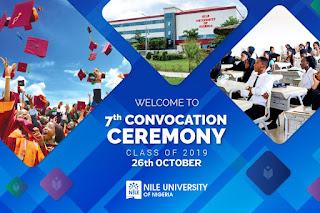 Nile University 7th Convocation Ceremony & 10th Anniversary 2019