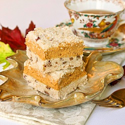 pumpkin pie cheesecake fall recipe