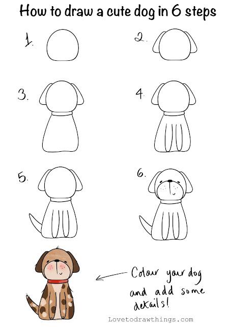 Draw a dog